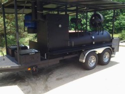 BBQ Mobile Catering Smoker
